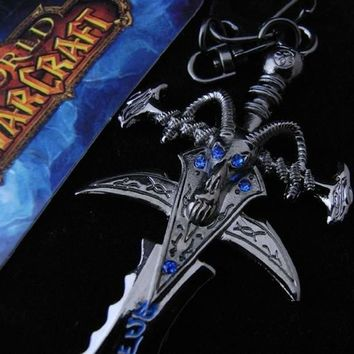 World of Warcraft Lich King Sword KeyChain