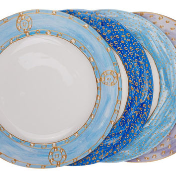 Myosotis Dinner Plates (Set of 4)