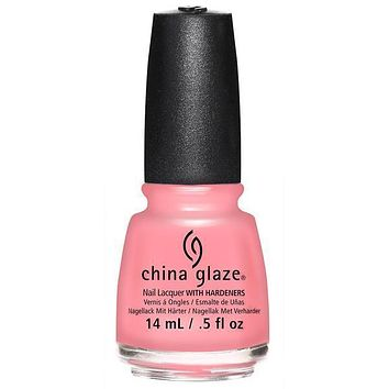 China Glaze - Pink Or Swim 0.5 oz - #83409