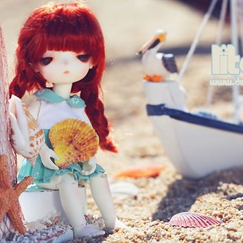 Litchi, 16cm Doll Zone Girl - BJD Dolls, Accessories - Alice's Collections