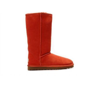 Discount Ugg Boots Classic Tall 5815 Red For Women 83 00