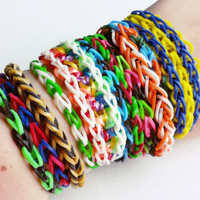 Loom Band Bracelet Pack - Rubber Band Bracelet - Loom Bands - Party Favors for Kids - Party Favors - Loom Bracelet - Party Pack #2