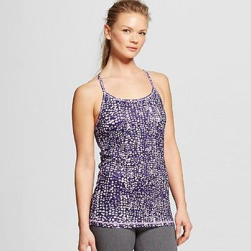 C9 Champion Women's Performance Fitted Racerback Tank, Large, Lavender