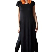 Women's Slit Maxi T-Shirt