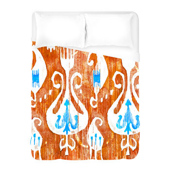 Hippies Duvet Cover