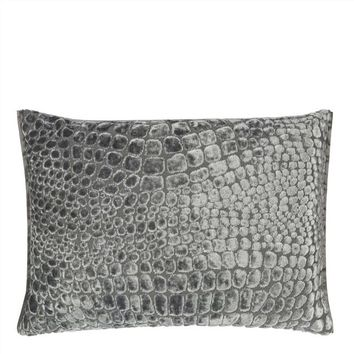 Nabucco Graphite Throw Pillow by Designers Guild