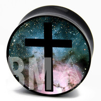 Cross in Space BMA Plugs (2.5mm-60mm)