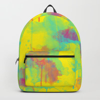 Summer Watercolors Backpack by edrawings38