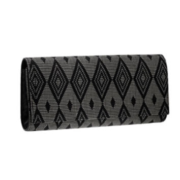 Raffia Clutch Purse