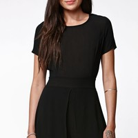 Kendall & Kylie Open Back Skort Romper - Womens Dress
