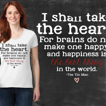 I Shall Take the Heart Wizard of Oz Graphic T-shirt
