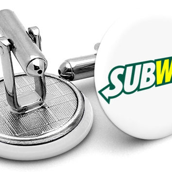 Subway Logo Cufflinks