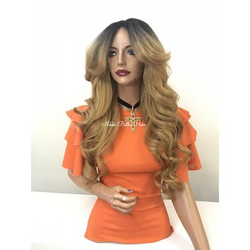 Blond ombre' lace front wig - Love Your Journey