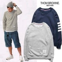 Men Sweatshirt Winter Star TB Cotton Pullover Casual Hoodies [8540567111]