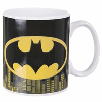 Boxed Batman Heat Changing Mug : TruffleShuffle.com