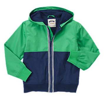 Shop Colorblock Windbreaker On Wanelo