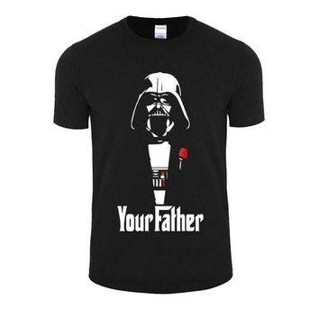 PEAPYV3 New Fashion Star Wars Darth Vader T Shirts Men Cotton O Neck  Emoji Man t shirt Short Sleeve  Mens Tops  Plus Size Free Shipping