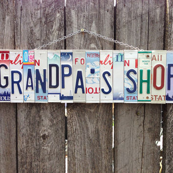Grandpa. Dad. Giftidea. Man. Recycle. Garage. Shop. Men. Car. Papa