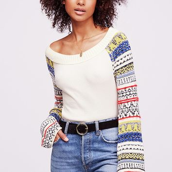 Fairground Thermal - Ivory by Free People