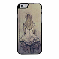 alice wonderland alone art iphone 6 plus 6s plus 4 4s 5 5s 5c cases