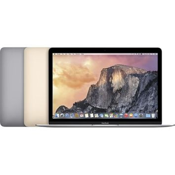 "Apple® - MacBook® - 12"" Display - Intel Core M - 8GB Memory - 256GB Flash Storage - Gold"