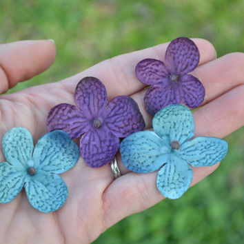 Flower Girl Petals, Peacock Wedding, Flower Girl, Wedding Petals, Vintage Wedding, Shabby Chic Wedding, Rustic Wedding, Teal, Purple Wedding