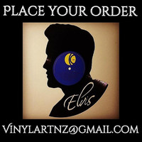 Elvis Presley Original Record – Vinyl Art - Retro, Cool and Funky - Perfect Birthday, Souvenier or Christmas Gift :)