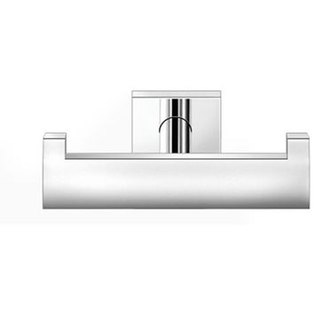 SCBA Cosmos Wall Double Towel Robe Hook Hanger for Bath Towel Holder - Brass