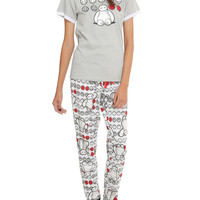 Disney Big Hero 6 Baymax Grey Sleep Set