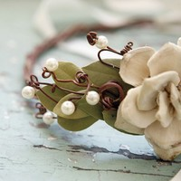 queen of the woods artificial vine crown safe for by whichgoose