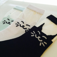 Kitty Cat Fashion Socks