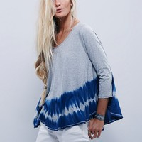 Free People We The Free Washed Swing Tee
