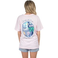Derby All Day Tee in Pink by Lauren James - FINAL SALE