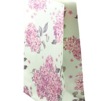 Set of 3 Standup Gusseted Floral Paper Bag - Great as Party Bags, Favor Bags, Gift Bags, Mechandise Bags