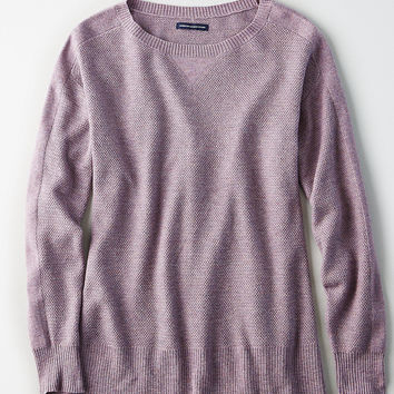 AEO Layer-Perfect Lightweight Sweater, Cobalt Blue