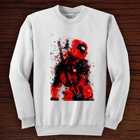 dead pool art  for sweater men or women, trend unisex all colours men women