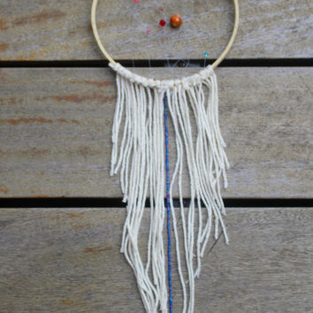 Hand made fringe dream catcher