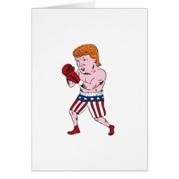 Donald Trump 2016 Republican Boxer Card