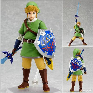 Legend of Zelda Skyward Swword Action Figure moveable parts PVC Model Toy gift