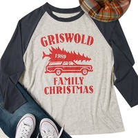 Griswold 1989 Family Christmas Tee Shirt