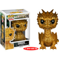 The Hobbit - The Battle of Five Armies - Gold Metallic Smaug Pop! Vinyl Figure