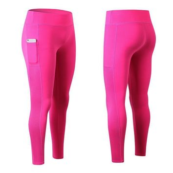 Yolanda Pocket Compression Workout Leggings