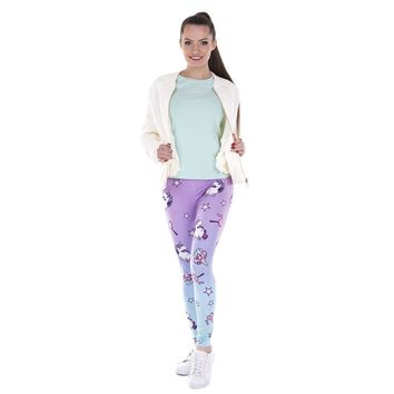 Unicorn and Lollipops Leggings