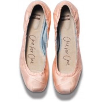 TOMS Shoes Petal Pink Women's Ballet Flats,