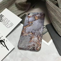 Marble pattern case for iphone 7 7plus 6 6s 6plus 6s plus 170113