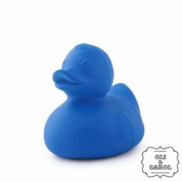 Natural Rubber Ducky - Blue