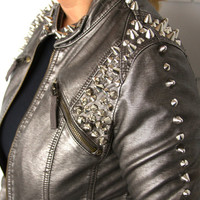 Studded jacket size Extra Small/Small
