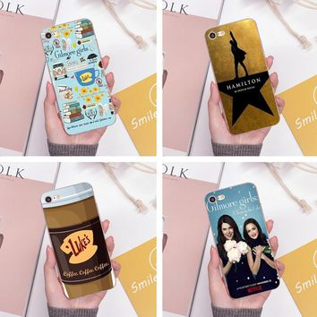 Gilmore Girls Law & Order Special Victims Unit Hamilton Case for iPhone 5 5S SE 6 6S 7 8 X Plus 6splus 7plus 8plus