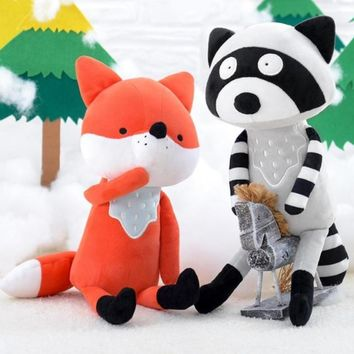 Kawaii Plush Animal Fox Stuffed Toys