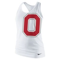 Nike Store. Nike College Logo Tri-Blend (Ohio State) Women's Tank Top